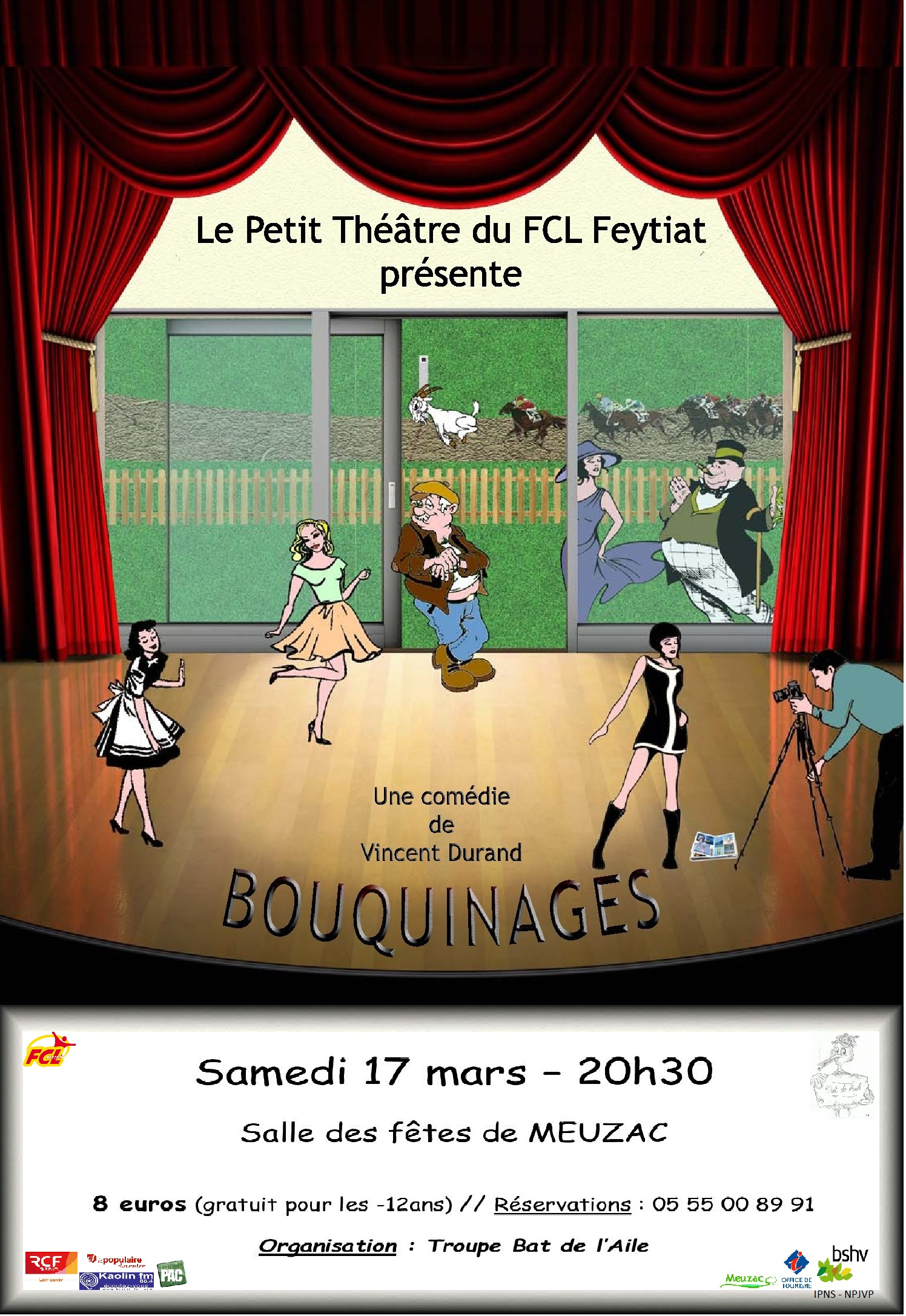 Theâtre : Bouquinage